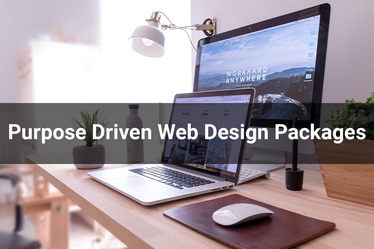 Purpose Driven Web Design Packages