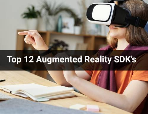 Top 12 Augmented Reality SDK's